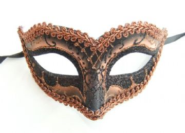 Gents Venetian style Bronze eye Mask